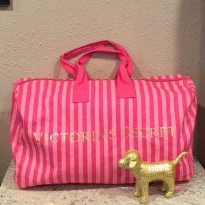 """Victoria's Secret Travel bag + PINK """"hope"""" dog"""